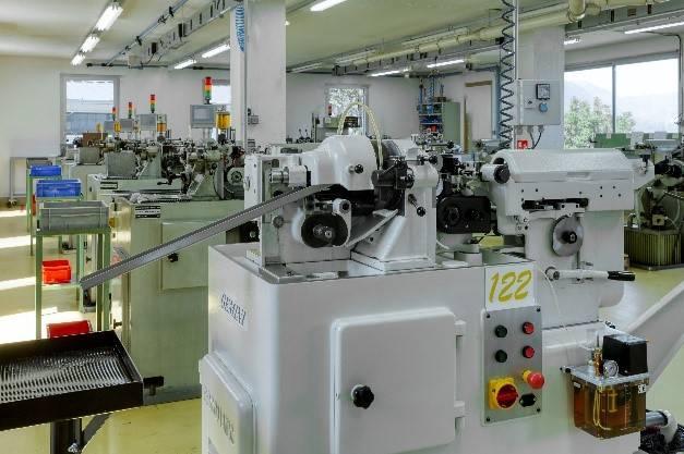 escomatic turning parts stainless steel, aluminium, titanium