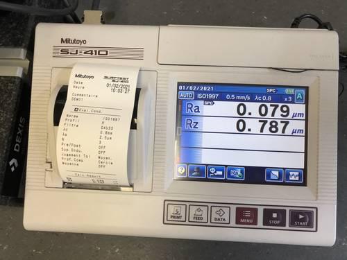 rugosimetter for surface treatment